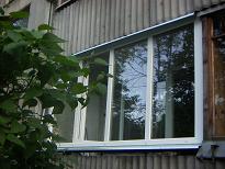 Balkono stiklinimas Plastiko konstrukcijomis, Vilnius