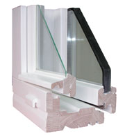 chassis bois, faux cintrage, belgian windows